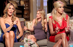Taylor Armstrong, Camille Grammer, Brandi Glanville RHOBH S2 Reunion