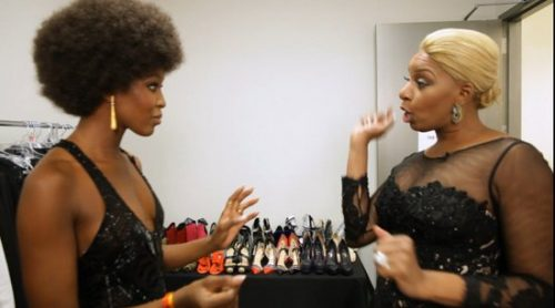 NeNe Leakes And Naomi Campbell Trade Roles To Promote 'The Face'!