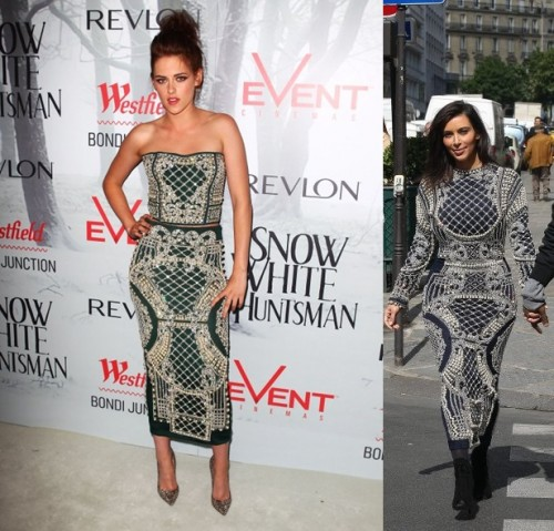 Who Wore It Best: Kim Kardashian And Kristen Stewart Edition