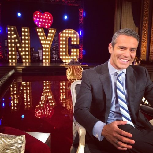 Andy Cohen Shares His Secrets To A Happy Life In Gla