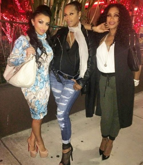 Tami Roman Spotted Filming With The Ladies Of Bask