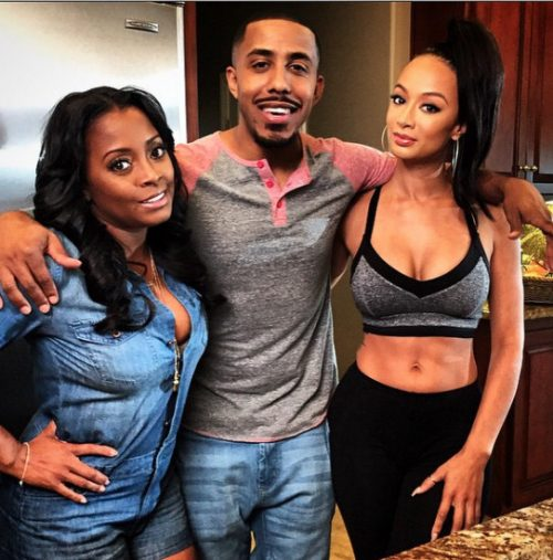 Photos – Baskeball Wives LA Star Draya Michele Lands Role In Movie Also Starring Keshia Knight Pulliam!