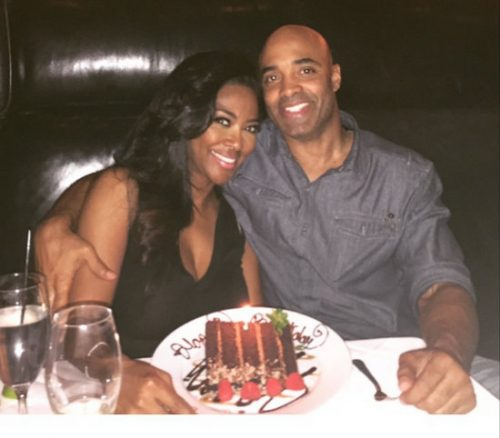 The Wife Of Kenya Moore's Fake Boyfriend Speaks Out; Kenya Begged James To Pretend To Be In A Relationship For Her Brand!