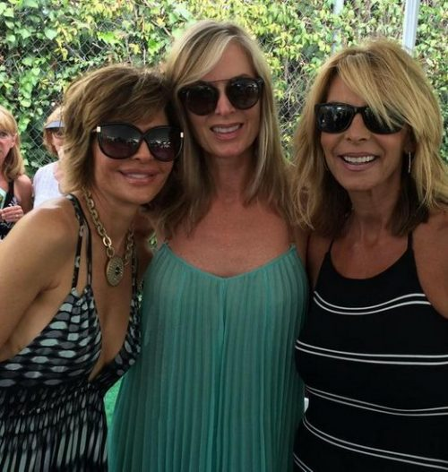 Eileen Davidson And Lisa Rinna Spotted Filming Real Housewives Of Beverly Hills?