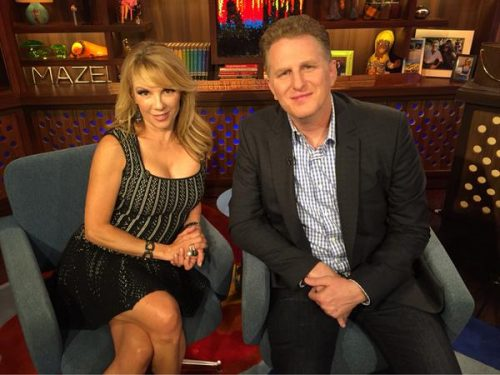 Ramona Singer Says She Doesn't Speak To Mario; Michael Rapaport Is A Housewives Superfan