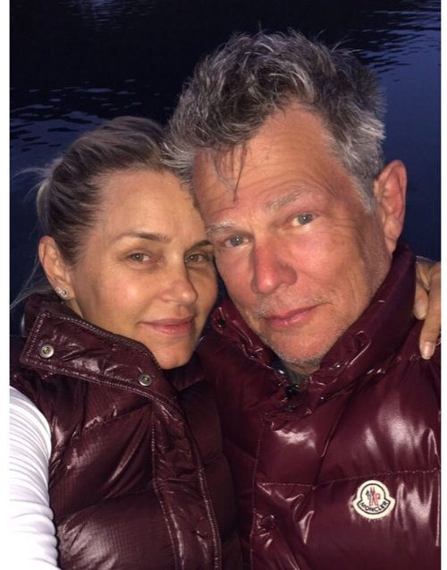 "Photos: Yolanda Foster ""Holds Onto"" David Foster And Takes A Break From Lyme Disease On Vacation!"