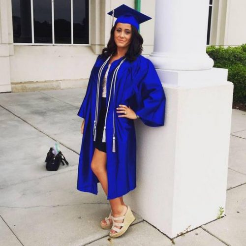 Jenelle Evans Graduates From Technical College – Photos