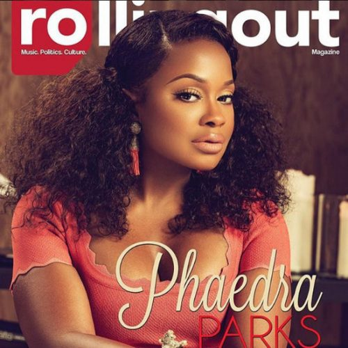 Phaedra Parks In Rolling Out Magazine On The Importance Of Respectable Behavior, Rising Above, And Fleeing Reality TV Fame!