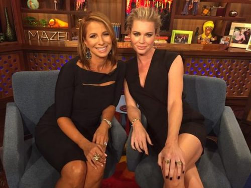 Jill Zarin and Rebecca Romijn Dish With Andy About Bethenny Frankel, Brooks Ayers' Cancer, Mario Singer's Cheating And Much More!