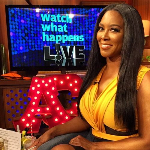 "Kenya Moore Says She ""Failed Up"" And Claims Kenya Moore Hair Care Products Now Shipping On"