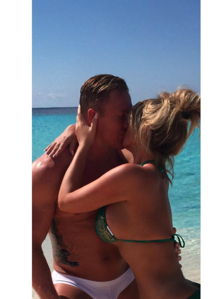 Kim and Kroy make memories in the Cayman Islands