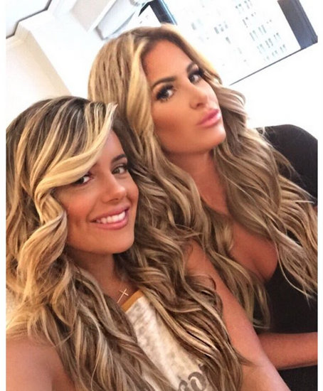 Kim Zolciak & Brielle Biermann