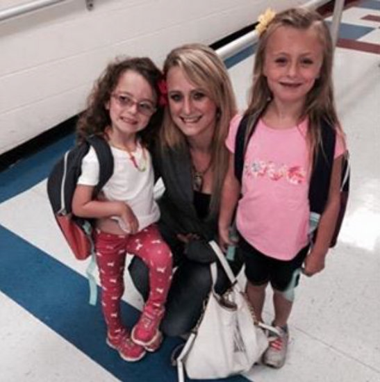 Leah Messer With Ali & Aleeah