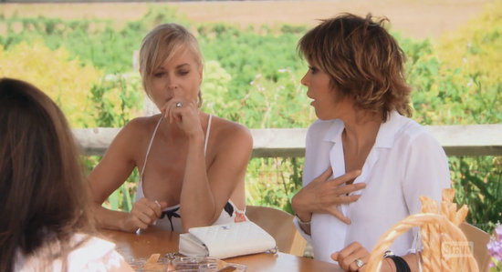 Lisa Rinna is shocked by Erika Jayne