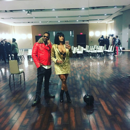 Stevie J & Joseline Go Hollywood Premiere