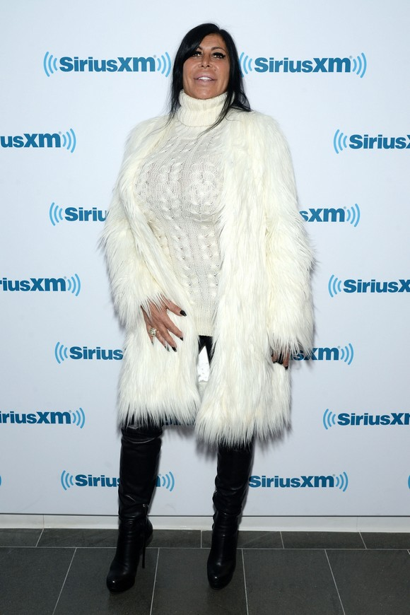 NEW YORK, NY - DECEMBER 15: Angela 'Big Ang' Raiola of 'Mob Wives' visits at SiriusXM Studios on December 15, 2014 in New York City. (Photo by Ben Gabbe/Getty Images)