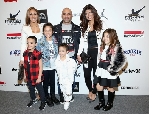 Gorga, Giudice at New York Fashion Week