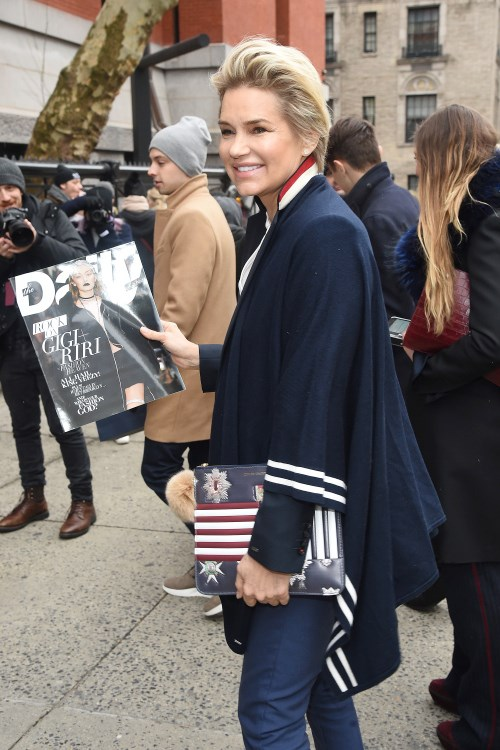 Yolanda Foster - New York Fashion Week