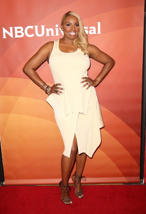 NeNe Leakes White Dress