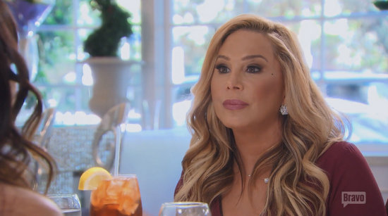 Adrienne Maloof has lunch with Kyle on RHOBH
