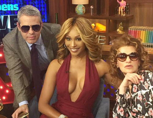 Cynthia Bailey on Watch What Happens Live