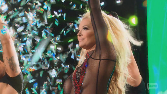 Erika Jayne performs