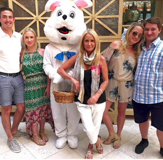 Kim Richards With Children - Easter