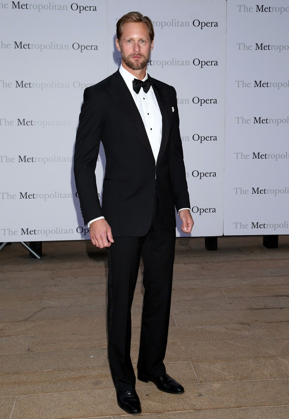 Opening night of Verdi's Otello at the Metropolitan Opera House - Arrivals. Featuring: Alexander Skarsgard Where: New York City, New York, United States When: 21 Sep 2015 Credit: Joseph Marzullo/WENN.com