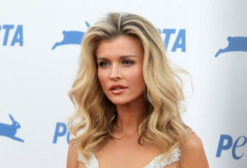 Joanna Krupa Poses For PETA Again