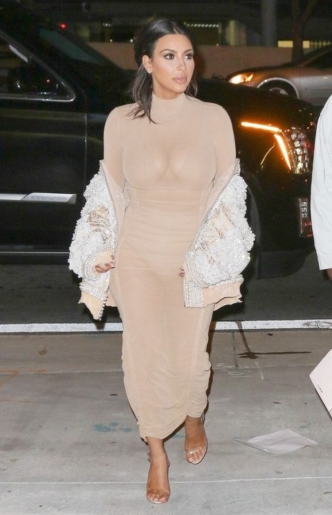 Kim Kardashian Lets It All Hang Out In Miami – See The Photos