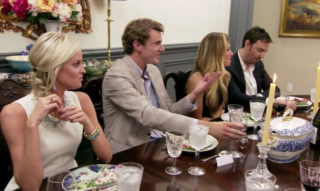 Southern Charm recap - Cameran's dinner party