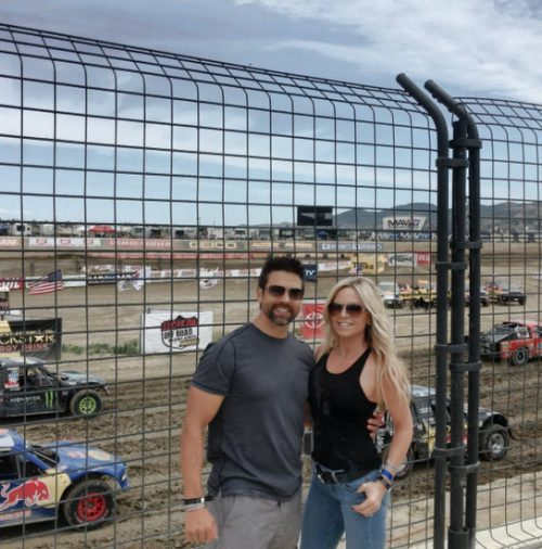 PHOTOS – Heather Dubrow Gets A Hair Cut; Tamra Judge Spends The Day At The Track Despite ATV Accident