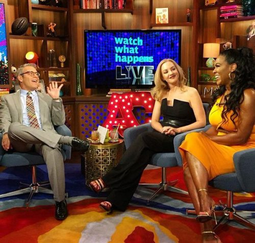 Kenya Moore Continues To Play Coy About Pregnancy News On WWHL