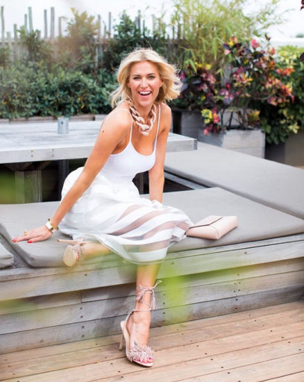 Kristen Taekman White Dress