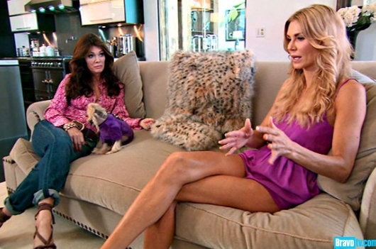 "Brandi Glanville ""Feels Sorry For"" Lisa Vanderpump ""A Little Bit""; Doesn't Think She Will Quit Real Housewives Of Beverly Hills"