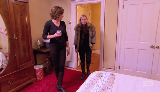 Luann moves in with Sonja
