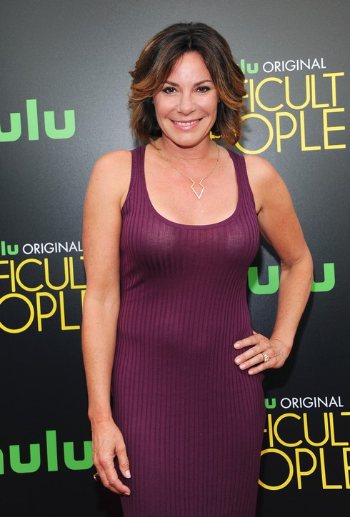 NEW YORK, NY - JULY 11: TV personality Luann de Lesseps attends 'Difficult People' New York Premiere at The Metrograph on July 11, 2016 in New York City. (Photo by Desiree Navarro/WireImage)
