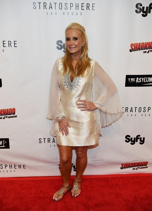LAS VEGAS, NV - JULY 31: Kim Richards arrives at the premiere of Syfy's