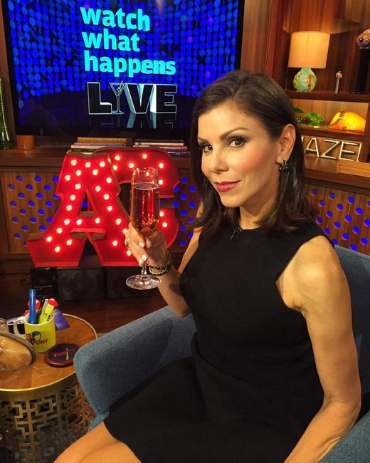 Heather Dubrow on WWHL