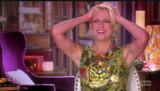 Dorinda reacts to Tom dating all her friends