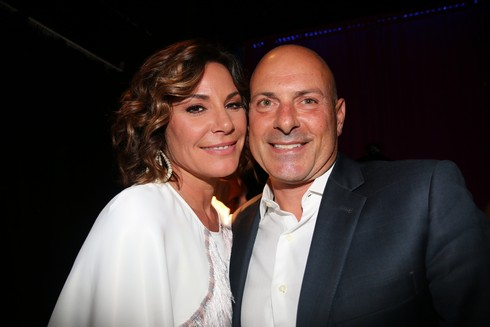 'The Real Housewives of New York City' Screening Party at 42 West Featuring: LuAnn de Lesseps, Tom D'Agostino Jr. Where: New York, New York, United States When: 06 Apr 2016 Credit: IZZY/WENN.com