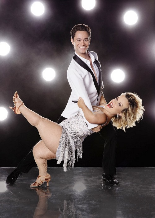 Terra Jole and Sasha Farber on DWTS