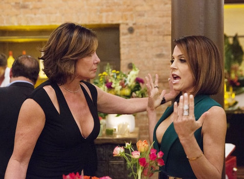 Luann Responds To Shade From Bethenny