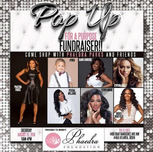 Real Housewives Of Atlanta Stars Will Unite To Support Phaedra Parks's Foundation