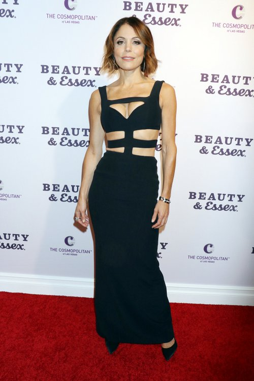 Bethenny Frankel - Black Dress