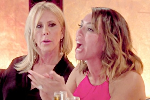 Vicky Gunvalson and Kelly Dodd