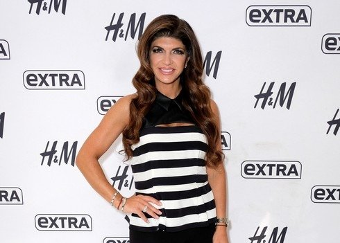 NEW YORK, NY - SEPTEMBER 21: Teresa Giudice visits