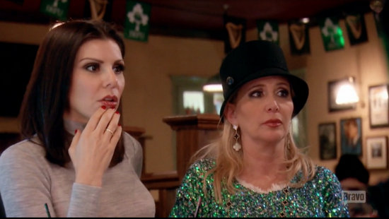 Heather Dubrow in Ireland
