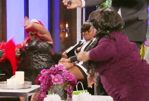 Little Women: Atlanta reunion Minnie throws candle at Juicy