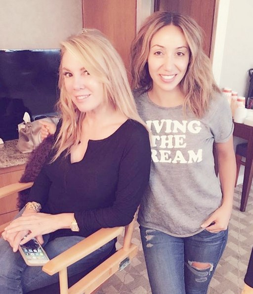 Reality TV Stars - Ramona Singer and Melissa Gorga